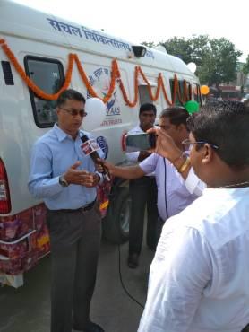 Gorakhpur media interview